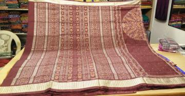 Beautiful Traditional Motif Silk Saree with Blouse Piece