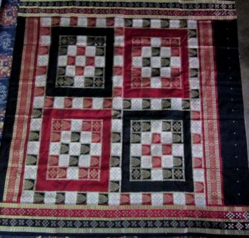 Odishi Handloom Pasapalli border and Aanchal  Saree