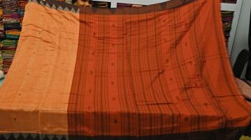 Beautiful Traditional Fish Motifs Kotpad Saree