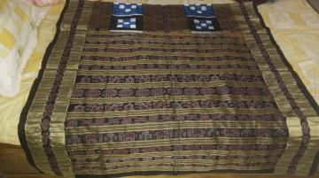 Traditional Beautiful Bichitrapuri Silk Saree with Blouse Piece