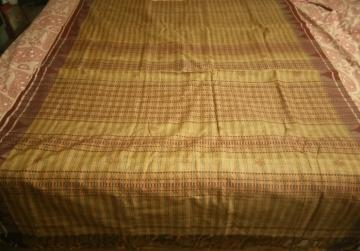 Tasar Cotton Traditional Kotpad Saree
