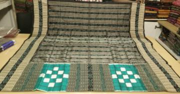 Bichitrapuri Silk Saree with Blouse Piece