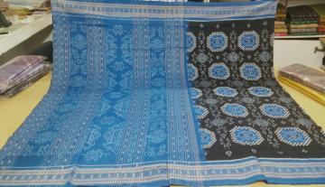 All over Pasapalli and Ikat work Cotton Saree