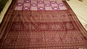 Exquisite Pasapalli and Ikat Work Cotton Saree