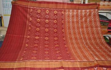 Orissa Handloom Sambalpuri Designer Cotton Saree