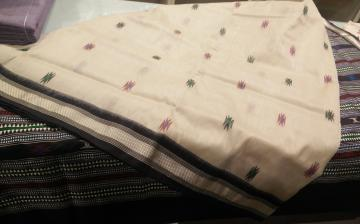 Exclusively Woven Master Weaver s Tribal Bomkai Silk Saree with Blouse Piece