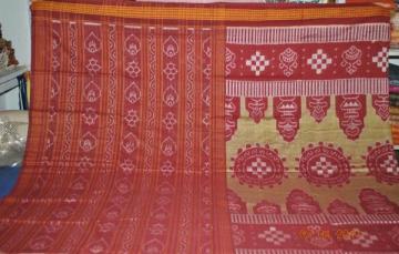Orissa Handloom Designer Ikat Cotton Saree Sari