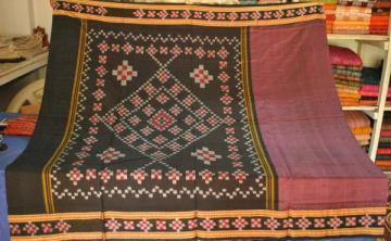 Orissa Handloom Sambalpuri Pasapalli Pure Cotton Saree