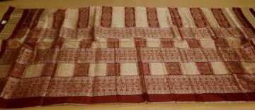 Traditional Patli Bomkai Saree in SIlk with Blouse pIece