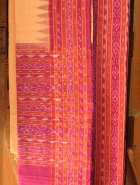Orissa Sambalpuri Handloom Ikat Salwar Suit Unstitched