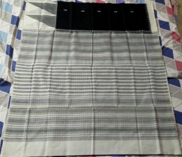 Traditional Sambalpuri Cotton Saree with Blouse Piece