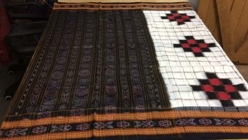 Traditional Checks and Pasapalli Pattern Cotton Saree