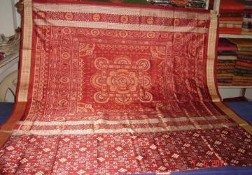 Orissa Handloom Pasapalli Saree Sari