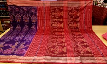 Master Weavers Creation exclusively woven Cotton Saree with Blouse Piece