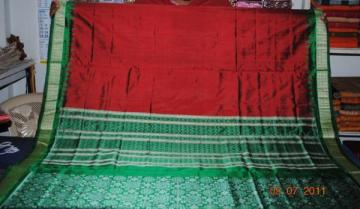Orissa handloom Ikat design unstitched salwar suit