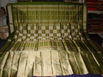 Orissa handloom Doll design Bomkai saree