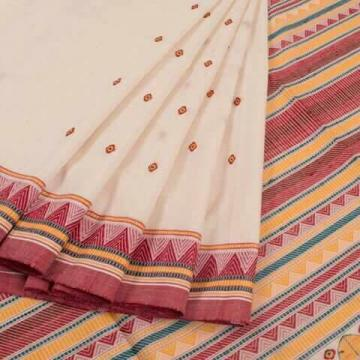 Dongria Cotton Saree with Blouse Piece